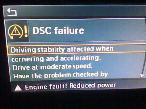 dsc-failure